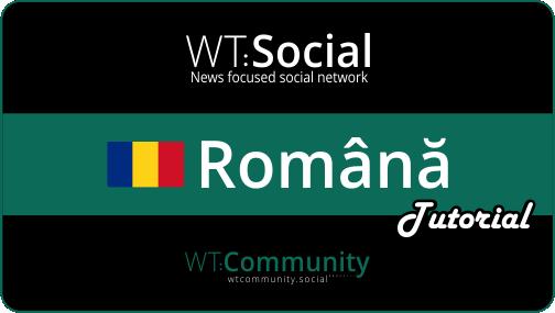 WT:Social romana tutorials