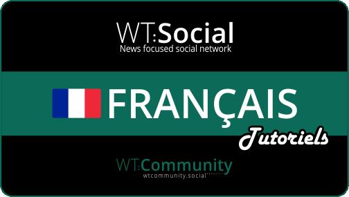 WT:Social Tutoriels Francais