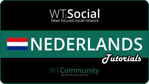 WT:Social Nederlands Tutorials