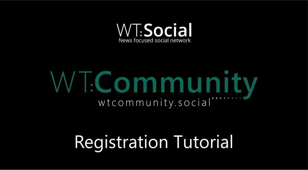 WT.Social Registration Tutorial Video